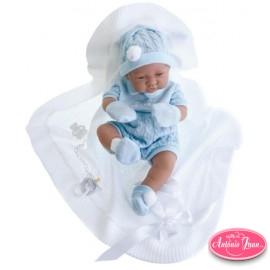 Muñeco Recien Nacido Toquilla 5063