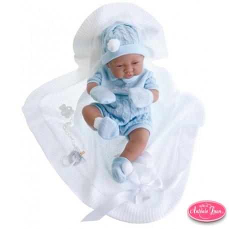 Muñeco Recien Nacido Toquilla