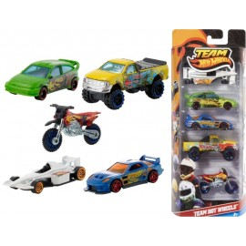 Hot Wheels Pack 5 Vehiculos