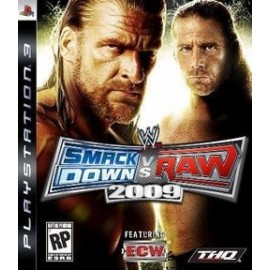 Ps3 WWE Smackdown vs. Raw 2009