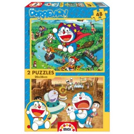 Puzzle 48x2 Pokemon