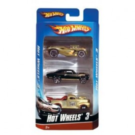 Hot Wheels Pack 3 Vehiculos
