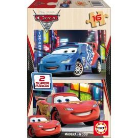 Puzzle 16x2 Cars 2