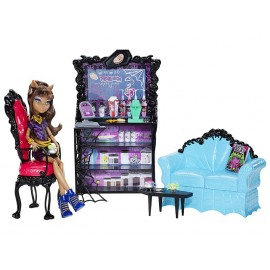 Monster High Clawdeen Wolf + Cafeteria