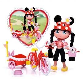 Minnie I Love y su Bici