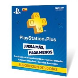 Tarjeta PlayStation Plus Card 90