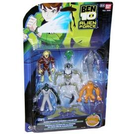 Blister Ben10 con 5 figuras