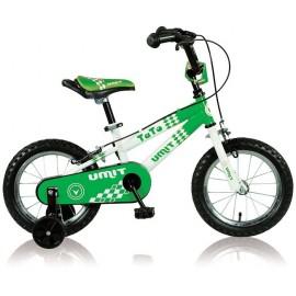 """Bicicleta 14"""" Tato Verde"""