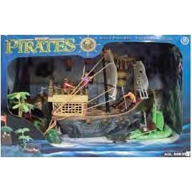 Barco Pirata Isla del Tesoro