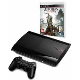 Playstation 3 Slim 500GB. + Assassin´s Creed 3