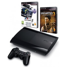 Playstation 3 Slim 500GB. + GT5 + Uncharted 3