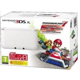 Nintendo 3ds XL Blanca + Mario Kart 7