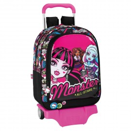 Carro Mochila Monster High