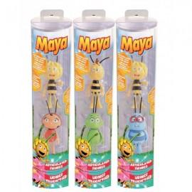 Bote 2 Figuras La Abeja Maya