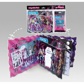 Album Pegatinas Monster High