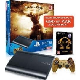 Playstation 3 Slim 500GB. + God of War: Ascension