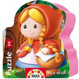 Puzzle 24 Caperucita