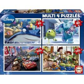 Puzzle Pixar Progresivo 50+80+100+150