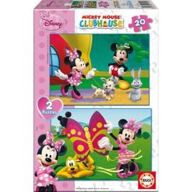 Puzzle 20x2 Minnie
