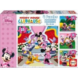 Puzzle Minnie Progresivo 12+16+20+25