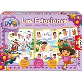 Puzzle 4 Estaciones Dora la Exploradora