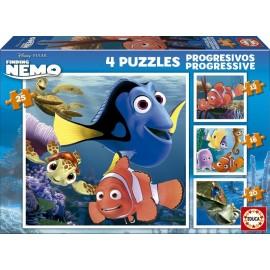 Puzzle Nemo Progresivo 12+16+20+25