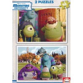 Puzzle 48x2 Monsters University
