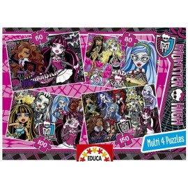Puzzle Progresivo Monster High