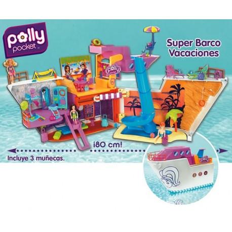 Super Barco Vacaniones de Polly Pocket