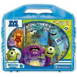 Rompecabezas Monsters University 12 Cubos