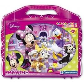 Rompecabezas Minnie 12 Cubos