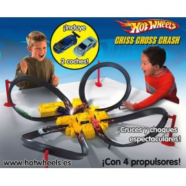 Pista Criss Cross Crash Hot Wheels