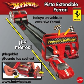 Pista Ferrari Hot Wheels