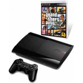 Playstation 3 Slim 500Gb. + Gta V