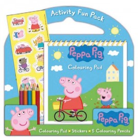 Set Colorea Peppa Pig