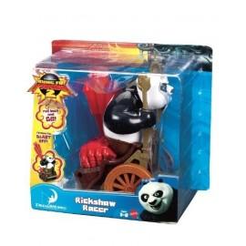 Figura Kung Fu Panda con Vehiculo