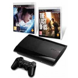 Playstation 3 Slim 500GB. + Beyond + Tlou