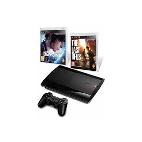 Playstation 3 Slim 500GB. + Beyond + Tlou