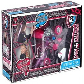 Estudio de Peluqueria Monster High