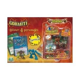 Gormiti Serie 2 - Blister 4 Figuras