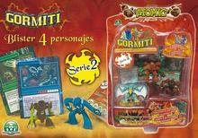 Gormiti Blister Pedrosa Juguetes Atomic 2 4 Serie Figuras E29DHI