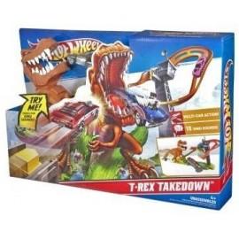 Pista Hot Wheels Ataque del T-Rex