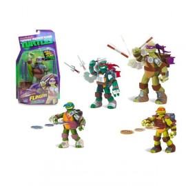 Tortuga Ninja Accion Flingers