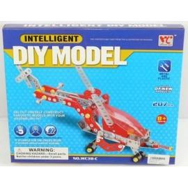 Caja Montaje Helicoptero Diy Model