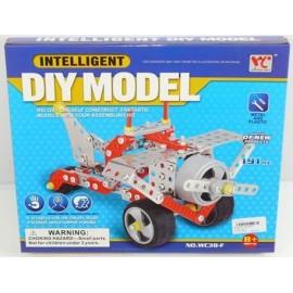 Caja Montaje Avion Diy Model