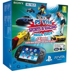 Ps Vita Wifi/3g + Tarjeta Mega Pack Sport