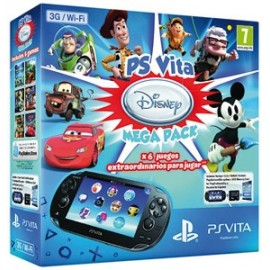 Ps Vita Wifi/3g + Mega Pack Disney