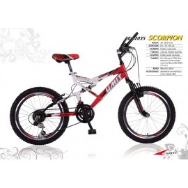 "Bicicleta 20"" Scorpion"