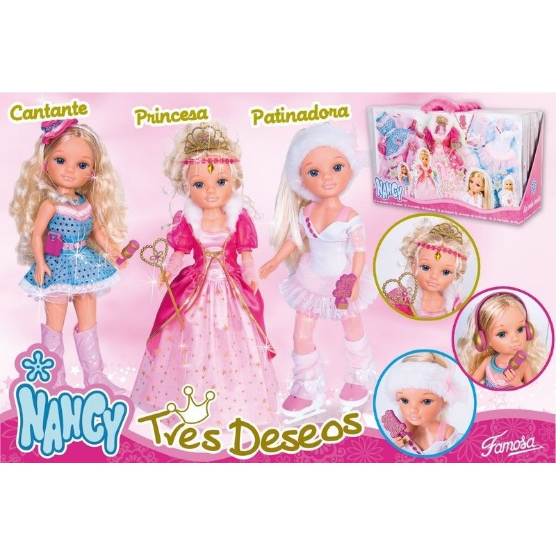 a56e3d12d73 Nancy tres Deseos - Pack 3 Vestidos - Juguetes Pedrosa