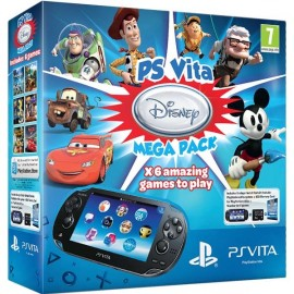 Ps Vita Wifi + Mega Pack Disney